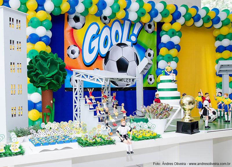 Copa No Brasil, Tema De Futebol Para Aniversário Infantil De Menino~ Decoracao Festa Futebol Infantil